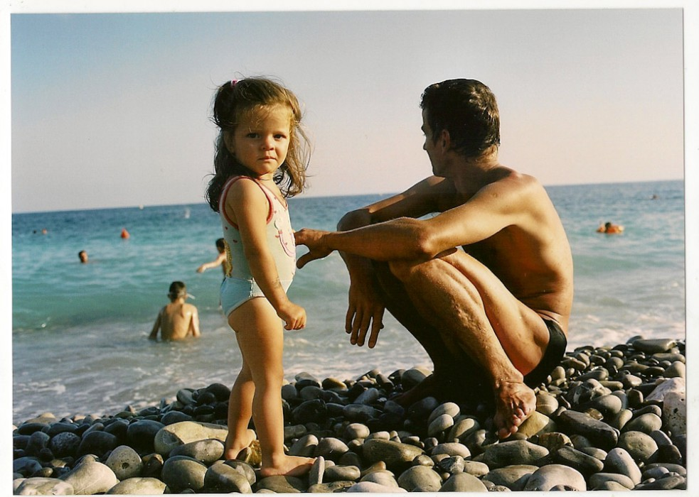 gens de nice | famille à la plage | by bertram rusch